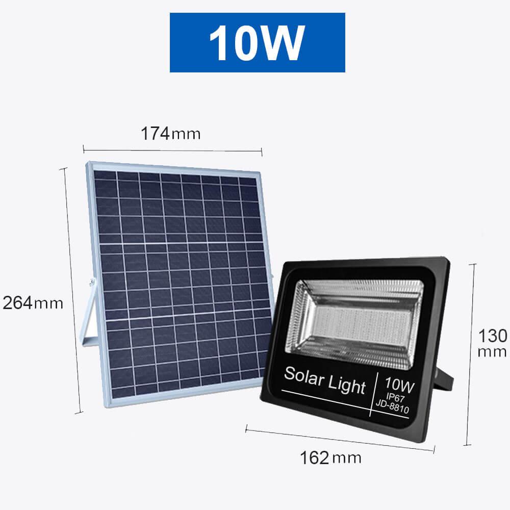 Projecteur solaire 10W