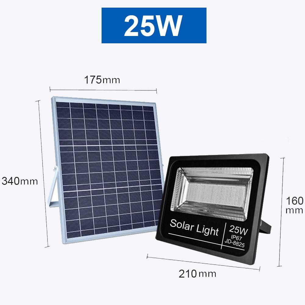 Projecteur solaire 25W