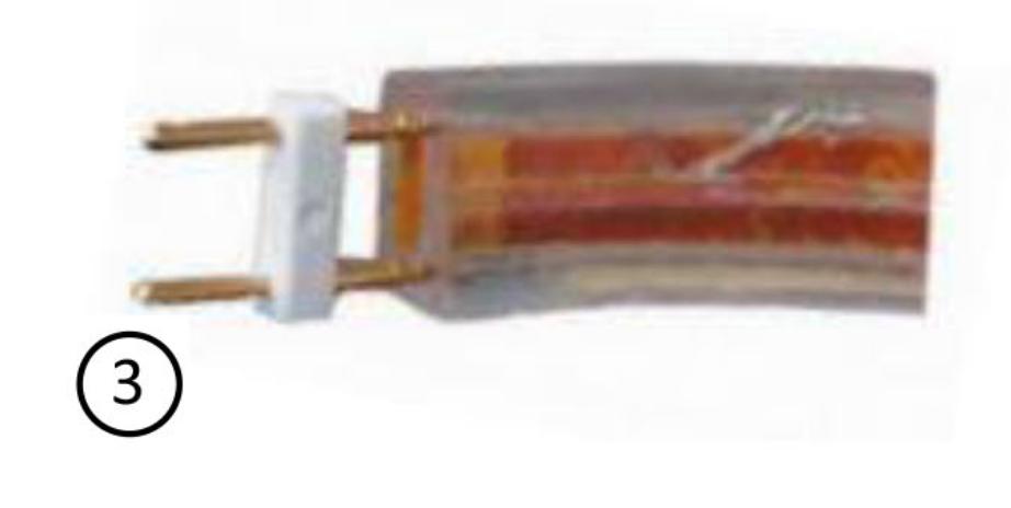 Insertion 2 broche led